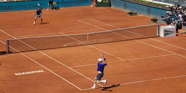 Rafael Nadal y Tomas Berdych