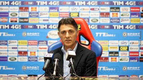 """Catania, Pellegrino: """"Performance positiva e grande dimostrazione dai nostri tifosi""""$"""