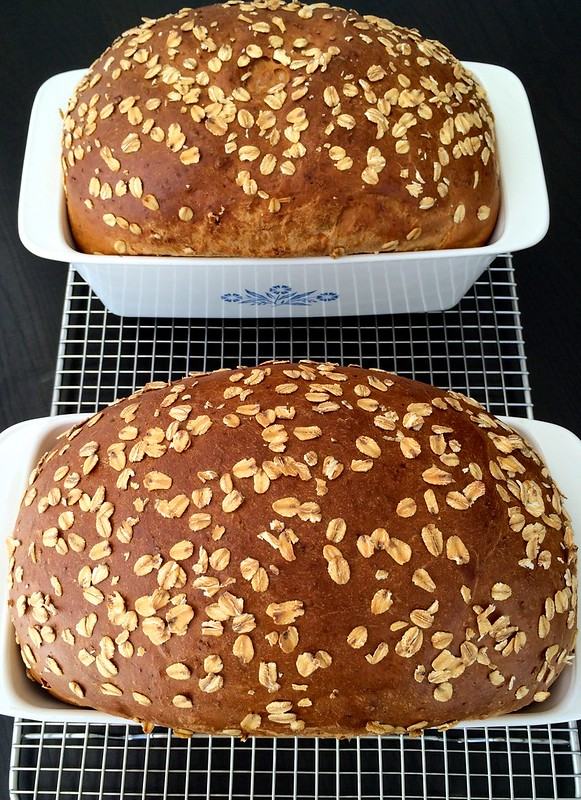 Hearty White Sandwich Bread by @javelinwarrior
