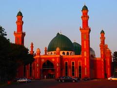 Mosque at Bradford Park Avenue