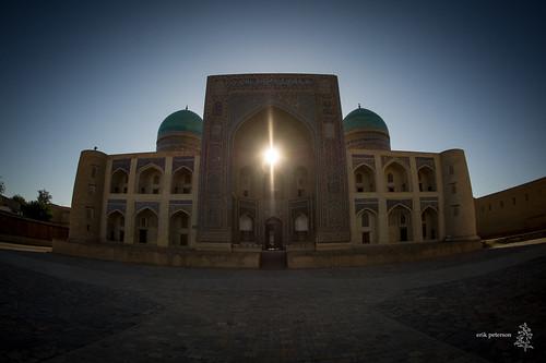 sun ngc kalyan uzbekistan bukhara kalon 2014 madrassah madrasa miriarab erikpeterson miriarabmadrasah