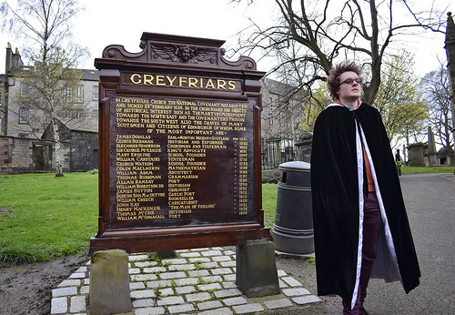 Potter Tour in Edinburgh, Scotland. Greyfriars Cemetary.