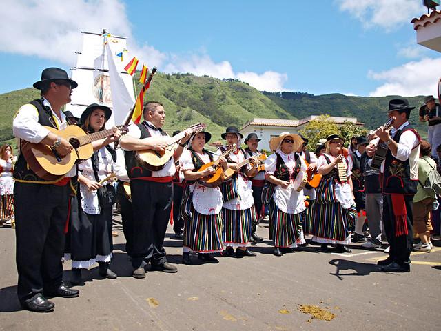 Musicians, Romeria San Marcos, Tegueste, Tenerife