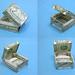 Dollar bill box by FJ Contreras