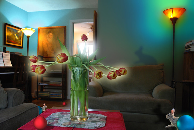 Another Look, Into the Light, Tulips and Living Room with Red Ball, May 16, 2014 10 full bpx