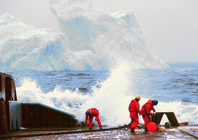 De profesión, remolcador de icebergs