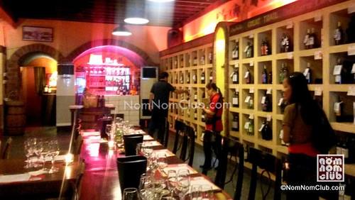 Titania Wine Bar And Cafe In Makati Nomnom Club