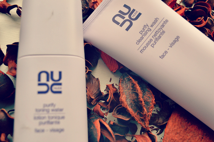 nude purifying cleansing wash