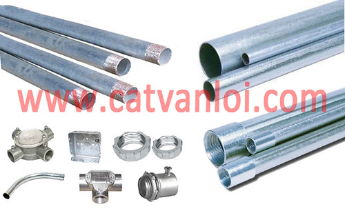 ong thep luon day dien (steel conduit)