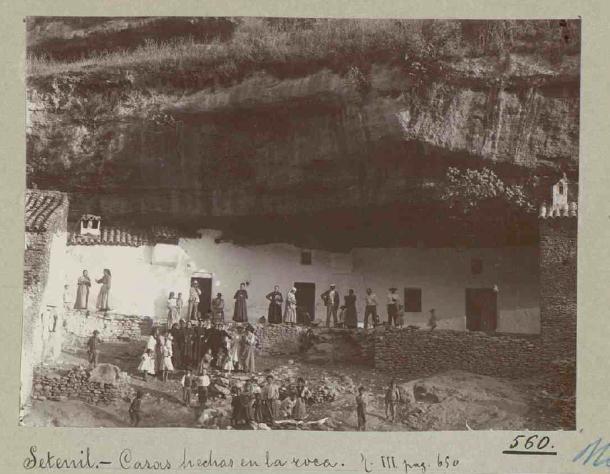 Cuevas de la Sombra, 1907. Publicada en el Catálogo de los Monumentos Históricos de la Provincia de Cádiz. Foto: ENRIQUE ROMERO DE TORRES