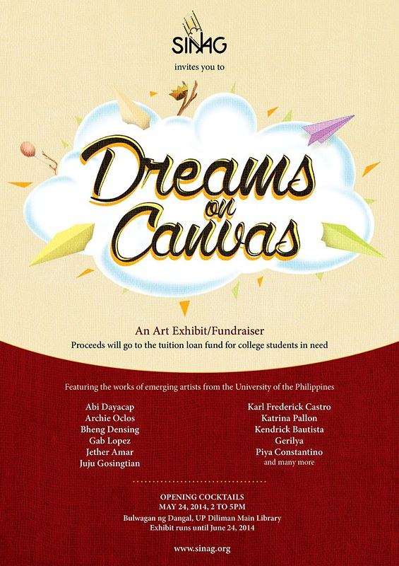 sinag dreams on canvas