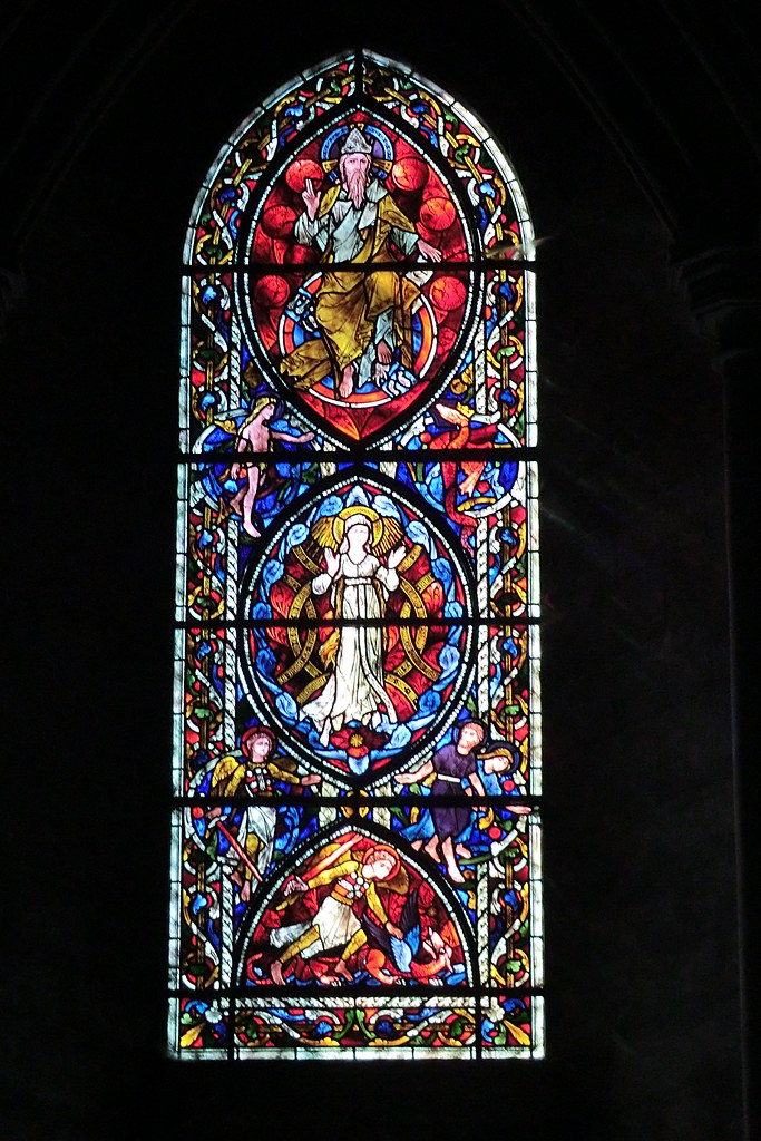 Window, The Cathedral of St. John the Baptist