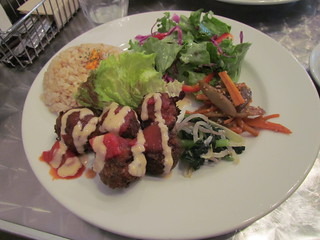 Vegan Healing Cafe - Felafel Plate