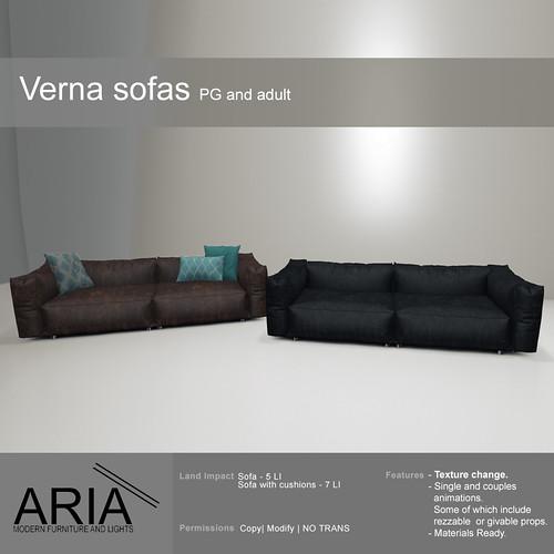 Verna sofas @ TMD