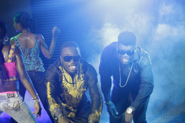 Dada Hafco and Castro video shoot