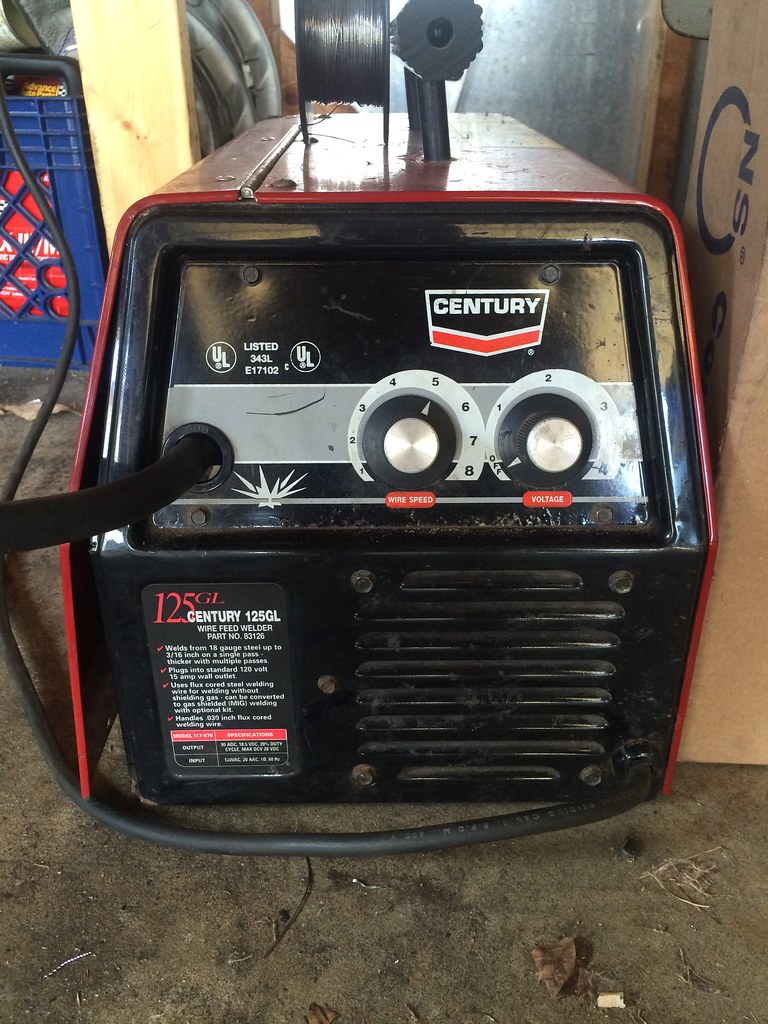 Century 125gs Mig Wire Feed Welder In Depth Wiring Diagrams Model 20511 Bought Me A This Morning Ar15 Com Rh 125 Gs Manual