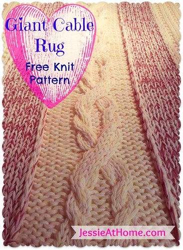Giant-Cable-Rug-Cover-Free-Knit-Pattern
