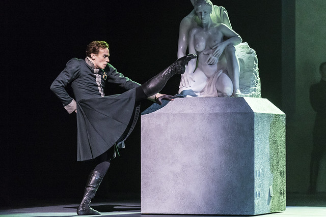 Edward Watson as Leontes in The Winter's Tale, The Royal Ballet, © ROH / Johan Persson 2014