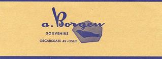 A. Borgen Souvenirs (1960)