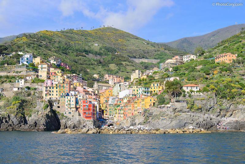 Riomaggiore. Cinque Terre, Italia