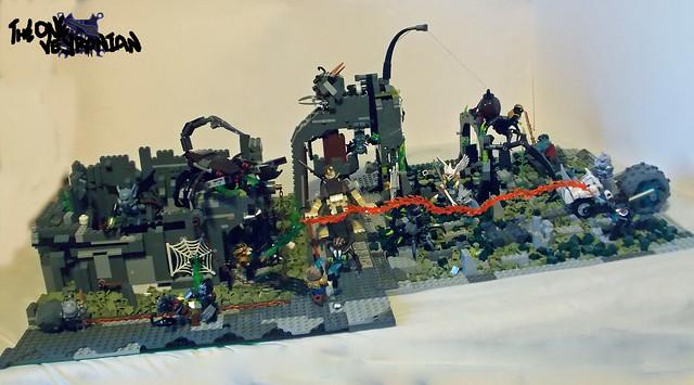 LEGO Chima - Scorpion Palace Ruins Raid 1