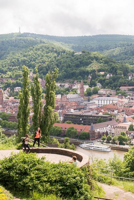 Bailando con Heidelberg a los pies