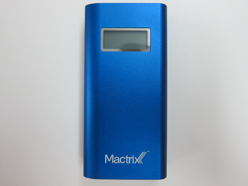 Mactrix Dual 5200 Portable Battery - Front
