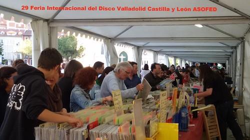 29 Feria Internacional del Disco de Valladolid-Castilla y León. Resumen
