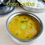 Onion sambar recipe/Vengaya sambar