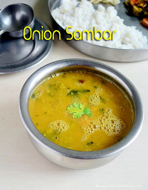 Onion-sambar-for-rice-South-Indian-style