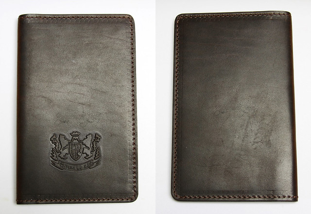 Mitchell Leather Journal Covers - Dark Front & Back
