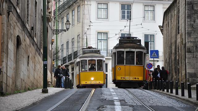 Tranvías en Lisboa - Portugal