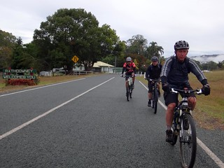 Riding out of Rathdowney