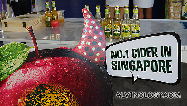 The top cider in Singapore