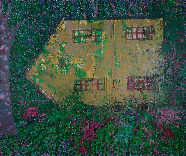 毛旭辉-昆明组画•故居-180×220cm-布面丙烯-2012