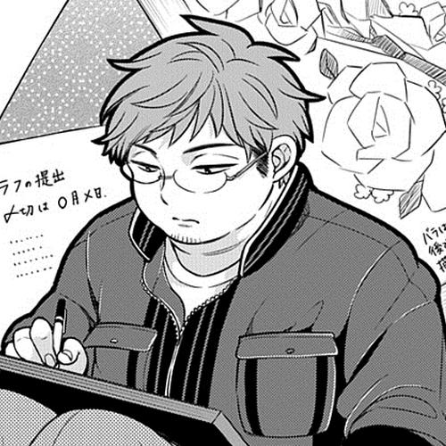 140522(1) - 第50回、漫畫家「椿泉」搞笑連載《月刊少女野崎同學》更新:美女「都ゆかり」18歲就出道!