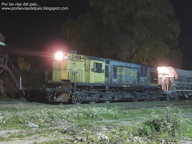 ALCO RSD35 6425 detenida en Patio Rufino.