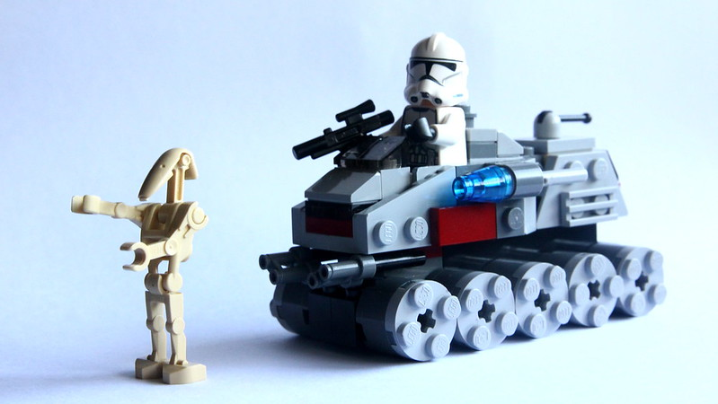 Clone Turbo Tank Microfighter 4/5