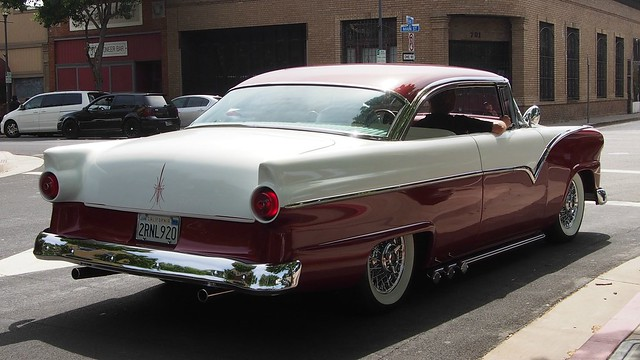1956 ford fairlane victoria 2 door hardtop custom for 1956 ford fairlane 4 door