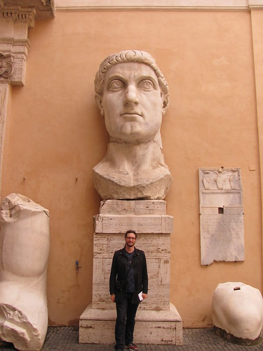 Bits of a Colossal Statue of Constantine