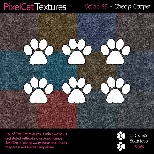 PixelCat Textures - Colab 99 - Cheap Carpet