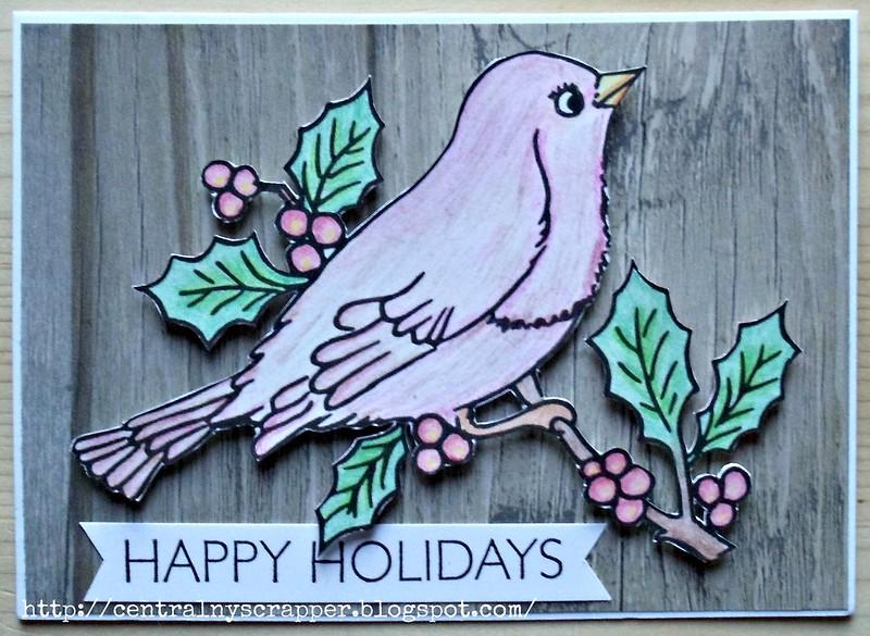 Christmas Card - Christmas Robin 03