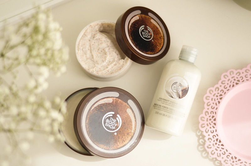 mini reviews the body shop coconut rottenotter rotten otter blog