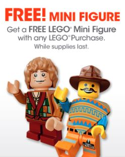 Gamestop LEGO Day Free Minifigure