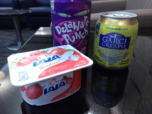 Lala Yoghurt, Delaware Punch, and Garci Crespo Agua Quina
