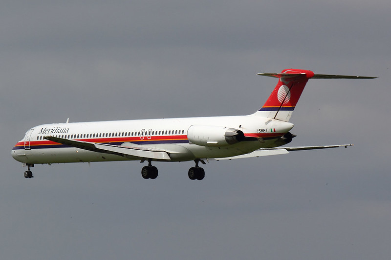 Meridiana - MD82 - I-SMET (4)