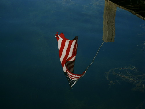 Old Glory's Reflection