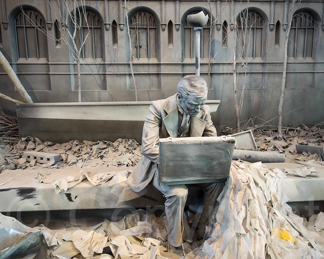 Double check 9 11 survivor 2014 sculpture by seward for Johnson s farm nj