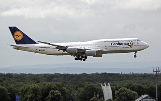 D-ABYI Boeing 747-830 - Lufthansa (Fanhansa)