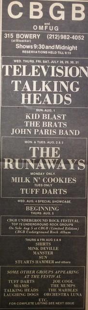 CBGB 07-28-76